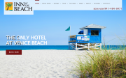 Inn At The Beach website screenshot