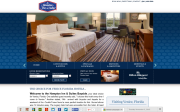 Hampton Inn & Suites website screenshot