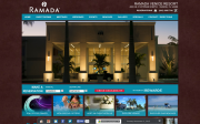 Ramada Venice Resort website screenshot