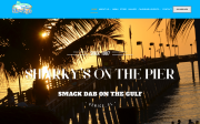 Sharky's On The Pier website screenshot