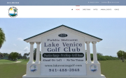 Lake Venice Golf Club website screenshot